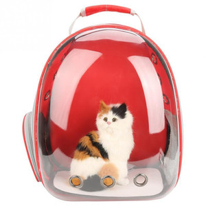 4 Colors Breathable Small Pet Carrier Bag Portable Pet Outdoor Travel Backpack Dog Cat Carrying Cage C19021301