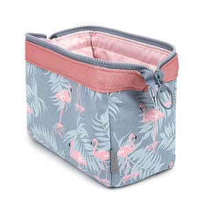new fashionwaterproof Flamingo makeup bags travel organizer Toiletry Kits Portable makeup bags Beautician
