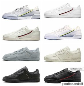 With Box 2019 Designer Calabasas Powerphase Grey Continental 80 Kanye West Aero blue Core black OG white Mens Women Casual shoes
