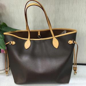 2pcs / set alta qulity classici delle donne borse donne fiore tote composito sacchetti di spalla cuoio frizione borse portamonete