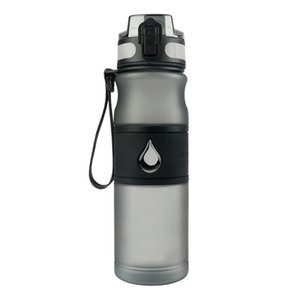 600мл с фильтром Основной центр Противоскользящая Non Toxic Матовый бутылки воды Герметичные Запах Стойкий Йога Отдых Туризм Спорт на открытом воздухе