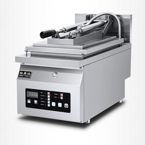 Machine frite de crêpe de machine de bifteck de machine de boulette frit par tête électrique électrique simple commerciale