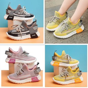 2020 Infant Kids Running shoes Rubber Suede Youth Junior sports trainers big small boy girl Children outdoor sneakers