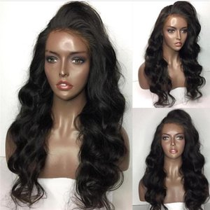 150% density Hair Full Lace Wigs Lace Front Wigs With Baby Hair Body Wave Brazilian Human Wig For Black Women