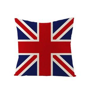 Neue Nordic-Dekoration-Ausgangskissenbezug London England Sofabezüge 45cmx45cm Benutzerdefinierte Qualitäts-Sofa mit Bett Printed Kopfkissenbezug