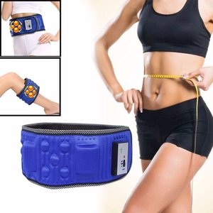 Fitness électrique sans fil vibrant amincissant la machine à secousses de ceinture amincissant la vibration de dispositif Artefact brûlant de graisse