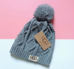 Good Quality beanies Knitted Hat Designer Champion Winter Warm Thick Beanie Bonnet Skull Hats for Men women Crochet Skiing m2 02