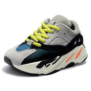 Big Kids 700 corridore dell'onda scarpe da ginnastica per ragazzi del bambino Malva addestratori Little Girls scarpe sportive inerzia sport giovanile scarpe adolescente Trainer Bambino