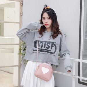 2020 shoulder messenger bag Korean style fashion shell bag ladies handbag love pattern mini