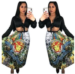 Sommer beiläufiges Kleid für Frauen Art- und Weisefrauenkleider reizvolles Weiß gedruckter beiläufiger Buchstabe faltete großen Schwingen skirt606h des Digitaldruckes