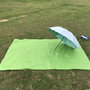 Plage imperméable Mat pique-nique Camping Matelas Sandless Beach Blanket Proof Sable Tapis Portable de poche Tapis pour la randonnée en plein air Tapis
