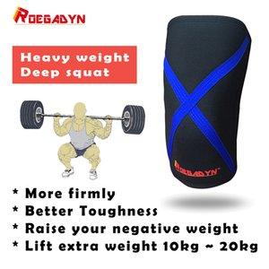 Stiff Compression Neopren Kniebandage Sport für Kompression während Bar Gewichtheben, Kraftdreikampf und CrossFit, Knie Sleeve