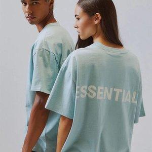 20ss Spring Summer Hip Hop 6th Fear Of God Essentials 3M Reflective Tee Skateboard Cool Tshirt Fog Men Women Short Sleeve Casual T Shirt