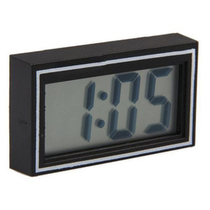 مكتب الساخن بيع البسيطة Poratble السيارات الالكترونية تاريخ الوقت التقويم على مدار الساعة LCD رقمية سيارة شاحنة على مدار الساعة لوحة