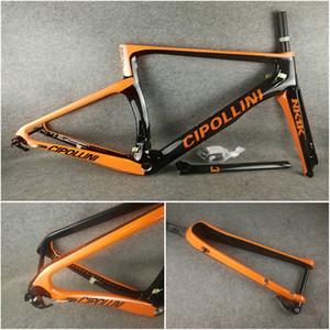Orange Black T1100 3K Matte NK1K Disque route carbone carbone Disque vélo cadre avec XS-S-M-L-XL pour sélection livraison gratuite