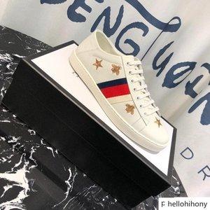 321G 2019 Zapatos Triple Balck blanco de la manera mujeres de los hombres zapatillas de deporte de los zapatos de cuero casual Runner TRAINE