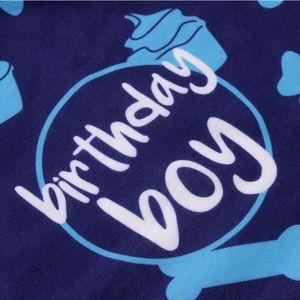 Scarf Dog Accessories Collar Fashion Polyester Decoration Bib Pet Soft Letter Bandana Triangular Cute Birthday