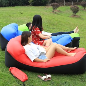 2019 nuova di campeggio esterna di viaggio mat divano aria sacca gonfiabile divano letto escursione del campeggio sedia d'aria portatile Beach bed Lounger