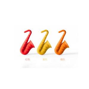 Überlaufverhinderer Horn Sax Modellierung Kreative Überlaufverhinderer Silica Gel Deckel Raise Antioverfall Küchengerät 2 75nm p1