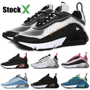 Top Quality Brand New Stock X Fashion 2090 B30 Men Women Running Shoes Oreo Bred Silver Best Athletic Designer Sports Sneakers Size 36-45
