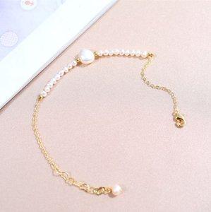 DAIMI Natural Freshwater Pearl Bracelet 4 5-7 8cm Natural Pearl Bracelets For Women Gift