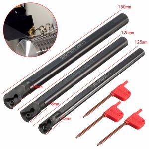 SNR0008K11 / SNR0010K11 / SNR0012M11 Токарный инструмент для токарной обработки токарного станка для вставки 11IR A60