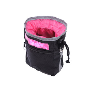 Treat Dog Outdoor Training Bolsa Pet Food Organizador Protable Feeding Pet Bag Outdoor Training bolso com Belt HHA1078