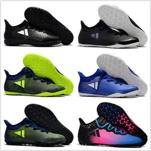 2019 ucuz çim futbol cleats X Tango 17.3 IC TF erkek futbol ayakkabı kapalı otantik futbol çizmeler orijinal ace 17 Purecontrol Gri