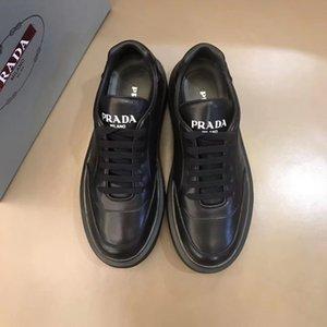 dos homens do desenhista de moda avançadas manualof sapatos de couro marca lace-up apartamentos casuais sapatos movimento da imagem 14-47