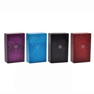 Crack Shape Plastic Cigarette Case Cover 87MM*55MM*22MM For Regular Cigarettes Case Holder Hard Tobacco Box