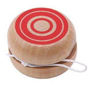 2019 Горячие продажи Профессиональные Дети барабан формы Yoyo игрушки Деревянный китайский Yoyo шарики древесины Йойо игрушка для детей