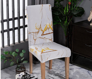 Modern Stretch Elastik Sandalye Yemek odası Ziyafet Düğün Kitchen için Spandex Çıkarılabilir slipcovers Ev Dekoratif Kapaklar