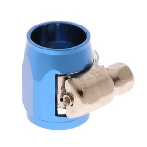 AN4 Heizöl Wasser-Rohr-Schlauch-End Finisher Clip Clamp Aluminiumlegierung