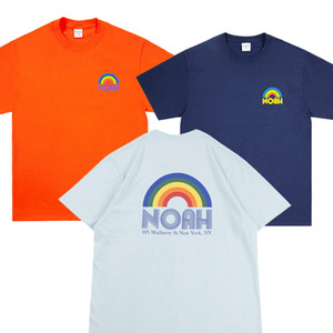 Noah Rainbow Shop T-Männer Frauen-T-Shirts Hip Hop Mode-Sommer-Art-beiläufiges T-Shirt NOAH-T-Shirts