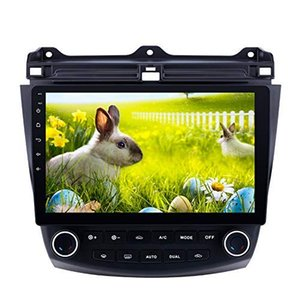 Car Radio 10,1 pouces Android 9.0 GPS Head Unit pour Honda Accord 7 avec Blutooth Radio 2003-2007 WiFi GPS