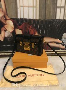 Femme Sac Soirée 2020Hot cuir Fashion Designer Boîte d'embrayage Sac à bandoulière Messenger Bag Petite Malle