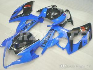 OEM Quality New ABS Full Fairing Kits fit for SUZUKI GSXR1000 K5 2005 2006 05 06 Bodywork set Custom Blue Black