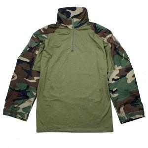 2018 Estilo TMC ORG corte G3 combate Camisa CS caza táctico ropa uniforme de la chaqueta WL (Woodland) Color