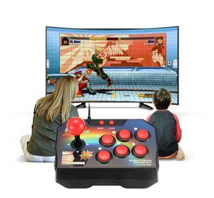 Retro Joystick-Videospielkonsolen 16 Bit 145 Arcade-Spiele ABS-Konsolenspieler Stick Controller-Konsole AV-Kabel für TV