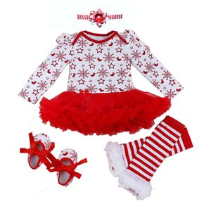 Romper 0-2Y Autumn Winter Newborn for Girls Christmas Gift Kids Bebe Jumpsuit Baby Girl Outfits Clothes T200706