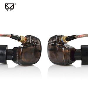 hone Earphones & Headphones KZ ATE 1DD Copper Driver HiFi Sport earphones In Ear Earphone For Running With Microphone Sound For Free Ship...