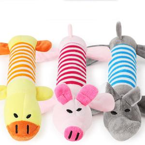 Baby plush vocal cartoon toy baby sound response intelligence training toy for Children's birthday christmas toy gift