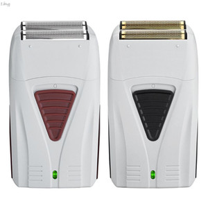 Shaver recarregável Strong Dual-rede elétrico portátil alternativa Navalha carregamento única malha para homens Multifunction Shaving
