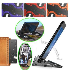 Pliable Régler téléphone Pocket trépied Support mobile caméra vidéo Photographie stabilisateur Rotation Type de carte