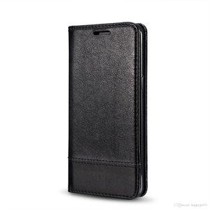 La alta calidad del cuero retro bolsa de la carpeta para Iphone 7 Plus 8 IPhone8 desmontable magnética tarjeta de la foto de TPU 2 en 1 piel híbrida de la cubierta de lujo