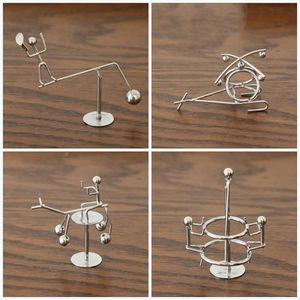 Balanced Pendulum Ornament Little Iron Swing Man Originalità Desktop Decompression Simple Modern Toys Gift Party Favor 4al E1