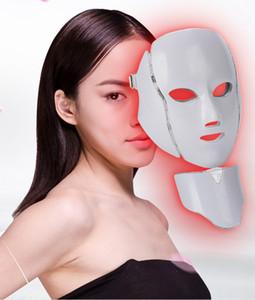 Новый рисунок Фотон Light Омоложение кожи Терапия Маска для лица по уходу за кожей Anti Aging Beauty 7 Цветов LED Маска для лица Косметологическое оборудование