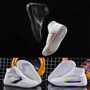De haute qualité All Star Pro BB annonce haute Chaussures Homme Blanc et de basket-ball Noir Sneakers Chaussures Taille 40-46