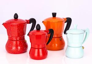 Kahve Makinesi Alüminyum Mocha Espresso Percolator Pot Kahve Makinesi Moka Pot 1cup / 3cup / 6cup / 9cup / 12cup mutfak aletleri Kahve Makinesi