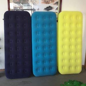 FONTE Fabricantes Recomendado Environmentally Friendly PVC inflável Individual reunindo colchão, Outdoor Viagem Camping mattre